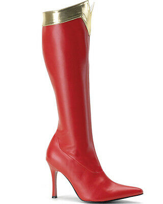 Red Wonder Woman Womens Boots