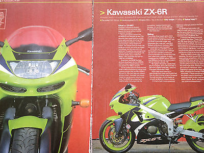 Kawasaki Zx-6R (1995 - 2002) # Buyers Guide Report # 6 Page Motorcycle Article