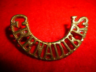 The Indian Grenadiers Shoulder Title Badge - India