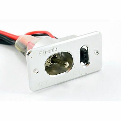 Etronix Power Switch With Deans Plugs - ET0770-2
