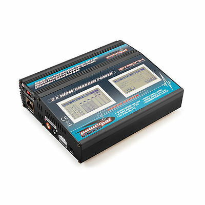 Etronix Powerpal Touch Dual AC/DC 100W Performance Charger - ET0212