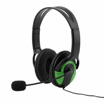 Wired Headset Headphone Earphone Steoro Microphone for PS4 Gaming PC Chat D#