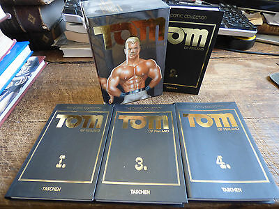 tom of finland - the comic collection  - volume1-5 - taschen