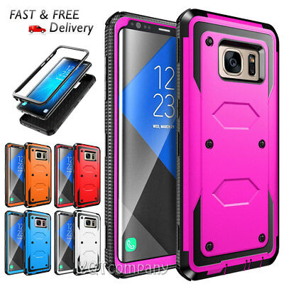 Armor Rugged Hybrid Shockproof Case Cover For Samsung Galaxy S6 Edge Plus