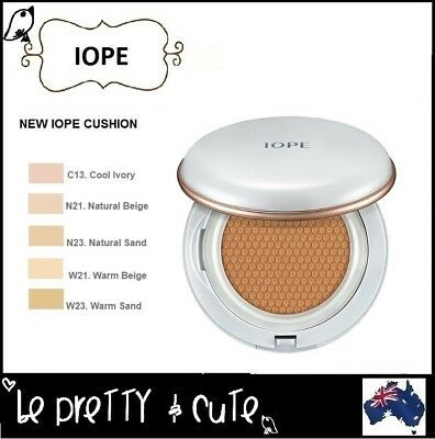 IOPE NEW 2018 AIR CUSHION with Extra Refill 2x15g SPF 50+/PA+++ Amore Pacific