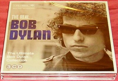 BOB DYLAN The Real.. Ultimate Collection 3CD Box Raccolta con 44 Brani SIGILLATO