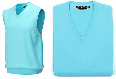 Glenmuir Thornton Golf Slipover Sleeveless Jumper RRP£44.99 M L XL 1stClass Post