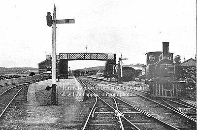 Photo Of Train At Ballinamore Junction Caven Leitrim Railway Ireland About 1905