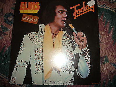 Elvis Today LP Original Never opened!! with TROUBLE sticker SEALED Super RARE