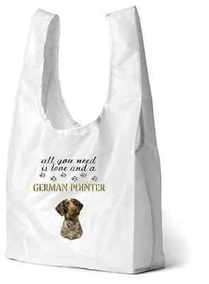 German Shorthaired Pointer Dog Printed Design Eco-Friendly Foldable Shopping Bag