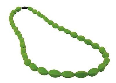Mumma Bubba Tulip Bead Teething Necklace Forest Green MummaBubba