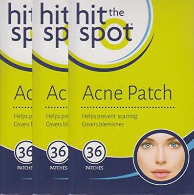 Hit The Spot Acne Patch Covers & Protects Blemishes & Facial Spots, x3