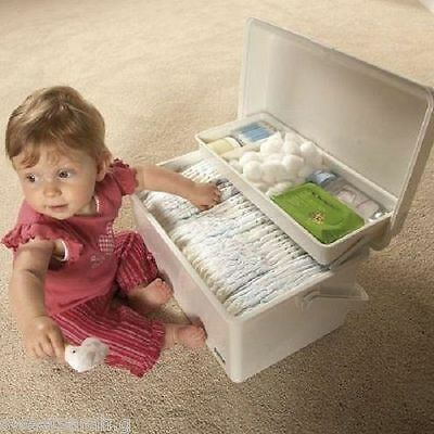 Tippitoes Changing Storage Box For Wipes, Nappies, Bottles, Bags, Sack NEW