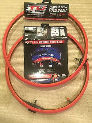 """Nuetech TUbliss 21"""" + 18"""" MX Tubeless Tire System Gen 2 BOTH TIRES COMPLETE KITS"""