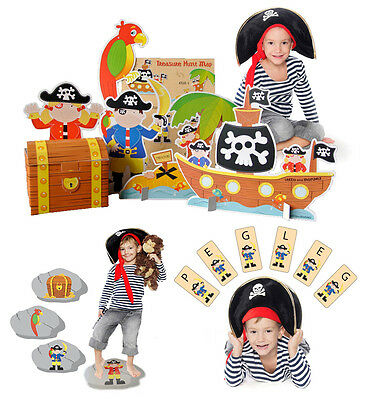 Pirate Party Games - set of 3 for children, kids ebay