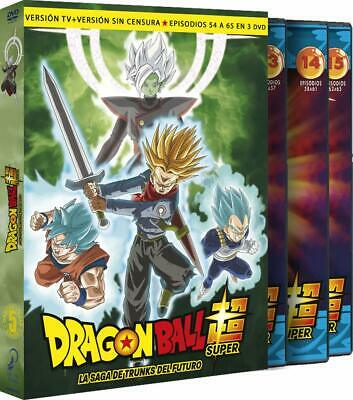Dragon Ball Super Box 5 La Saga Trunks Del Futuro Dvd Pack Nuevo ( Sin Abrir )