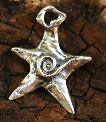 Artisan Star Charm in Sterling Silver, ps107