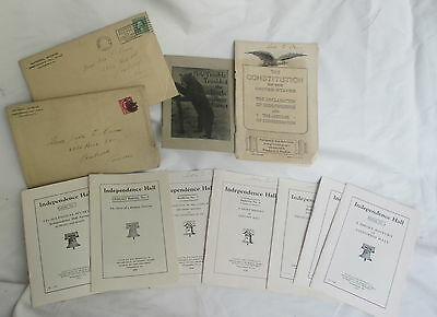 """Old 1922 PA Department of Forestry """"Independence Hall"""" Bulletins Booklets"""