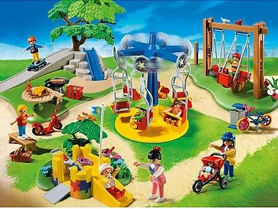 New Playmobil City Life Children's Playground 159 Pieces Hours Of Creative Fun