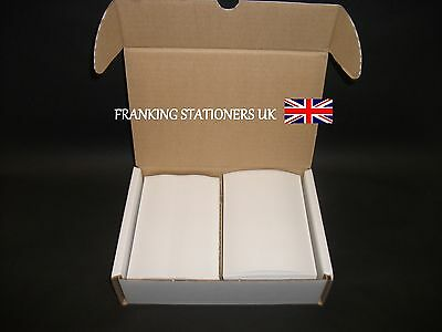 2000 x Pitney Bowes double adhesive franking labels (100 x 149mm)