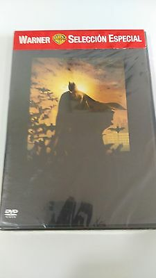 Batman Begins Edicion Especial 2 Dvd Nuevo Precintado New Sealed