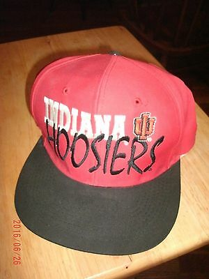 Indiana Hooisers Vintage Hat Cap Free Shipping!