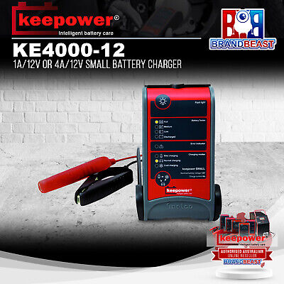 Keepower Canbus 6 12 24  Volt 4 Amp Smart Battery Charger Car Bike Truck Trickle