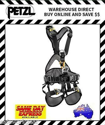 Petzl AVAO Bod Fast Croll Harness VARIOUS SIZES Fall Arrest Height Safety