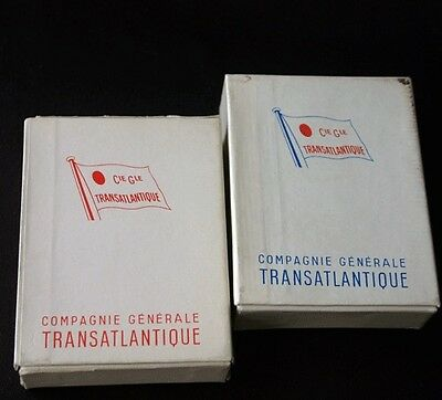CGT French Line SS FRANCE Boxed Playing Cards Sealed