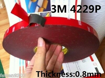 For Auto Truck Car 3M 4229P Double Sided Foam Tape Acrylic length 33 Metres