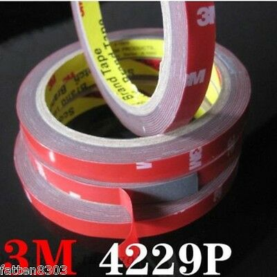 For Auto Truck Car 3M 4229P Double Sided Foam Tape Acrylic length 3 Metres