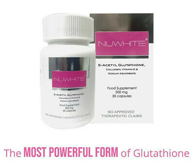 Nuwhite Advanced Whitening L-Glutathione Collagen & Placenta Anti-Aging Capsules