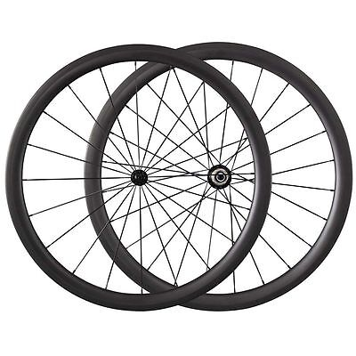 NEW Ship From Germany 38mm Clincher Carbon Road Bike Bicycle Racing Wheels