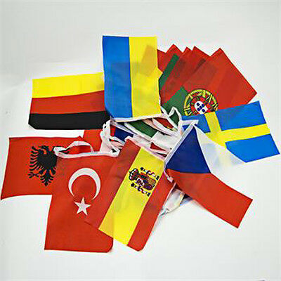 24 European Countries 2016 Europe Championships Football flags for Party Pub HOT