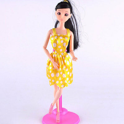5Pcs Mix Sorts Handmade Party Clothes Fashion Dress For Barbie Doll Gift