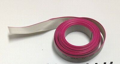 Flat cable 10 Pin 10 Wires IDC Ribbon Roll 12 ft. Long 12mm wide