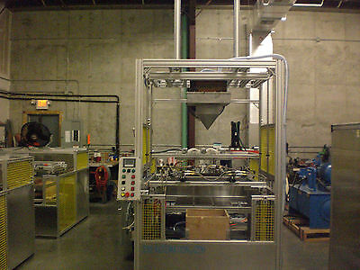 "Sibe Auto Vacuum Forming Machine 30"" X 30"" Thermoforming Dual Heat 2 Platen"