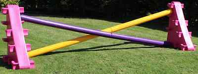 Plastic horse jump set,jump set,poles,sloping block,wing, Cheapest