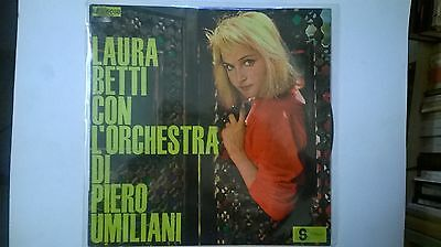 Lp 33 Laura Betti Con L'orchestra Di Piero Umiliani - Stella Records
