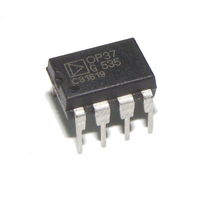 OP37G Low-Noise Precision High-Speed Operational Amplifier DIP8 Analog Devices
