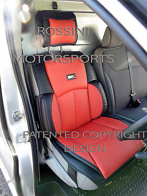 To Fit A Ford Transit Van,2010, Seat Cover, Ys 06 Rossini Sports Red/Black