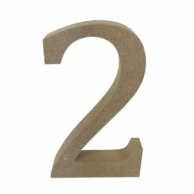Dovecraft Wooden MDF decorative Embelishment Letter Collection Number - 2
