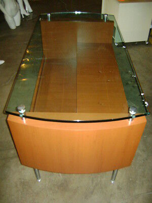 Retail Glass Top Display Table / Desk