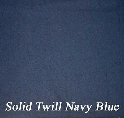 Twill Navy Futon Cover - Handmade in USA - All Sizes