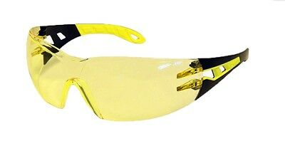 NEW Safety Glasses PHEOS - Amber Lens uvex