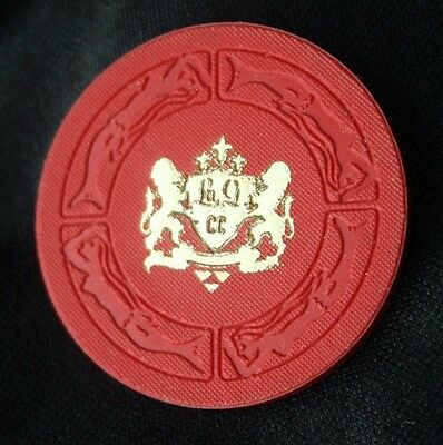 Vintage LA GORCE COUNTRY CLUB Miami Beach Liquor Chip