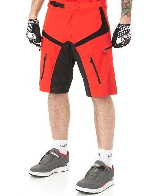 ONeal Red 2015 Pin It III MTB Shorts