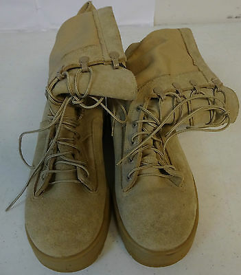 Wellco Flight and Combat Cold Weather Desert Tan Boot Size 8 R Gently Used