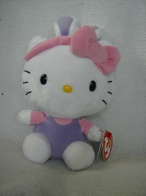 TY beanie babies hello kitty dressed in bunny outfit