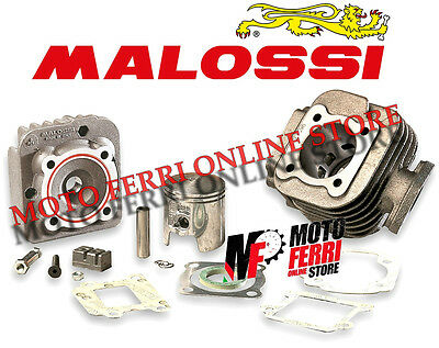 Kit Gruppo Termico Cilindro Malossi 75 Cc Ghisa Dm 47 Mbk Booster 50 2T Spirit